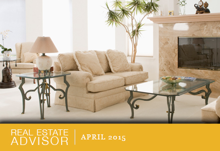 Real Estate Advisor: April 2015