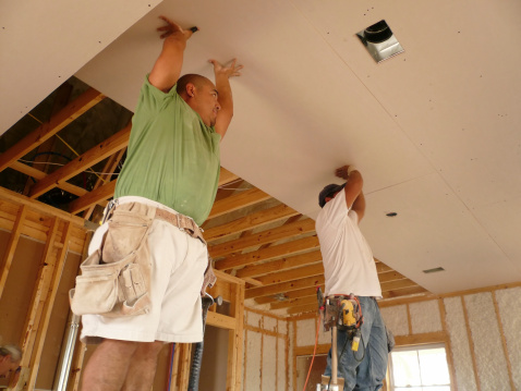 Sheetrock - When to Use a Professional