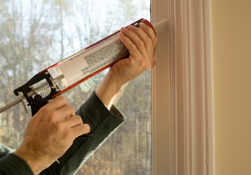 window caulk - When to Use a Professional