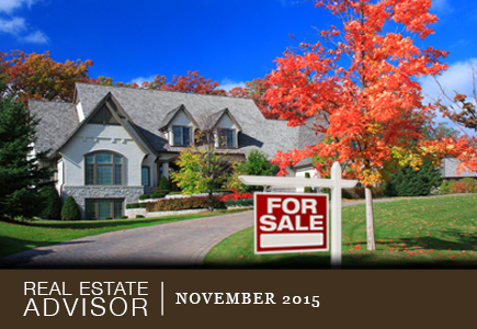 Real Estate Advisor: November 2015