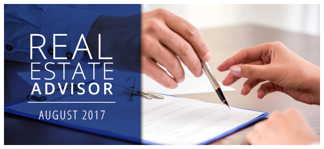 Real Estate Advisor: August 2017