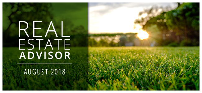 Real Estate Advisor: August 2018