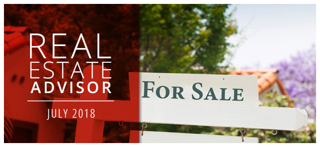 Real Estate Advisor: July 2018