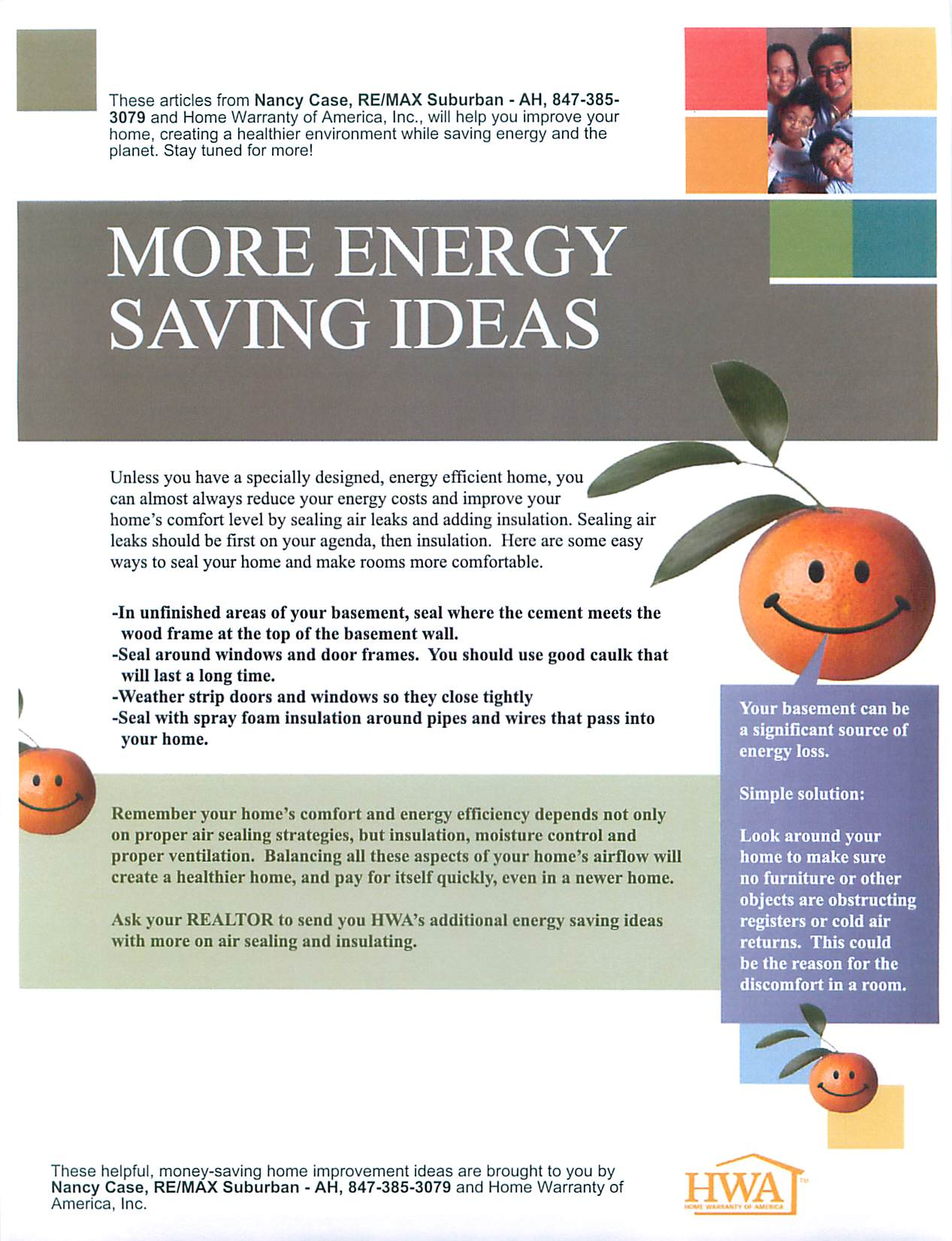 More Energy Saving Ideas, Going Green in your Home, Energy ...