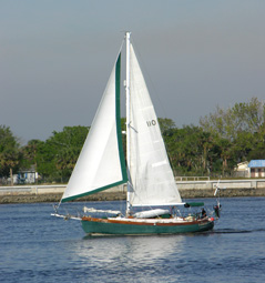 Relaxed Sailing in NE Florida
